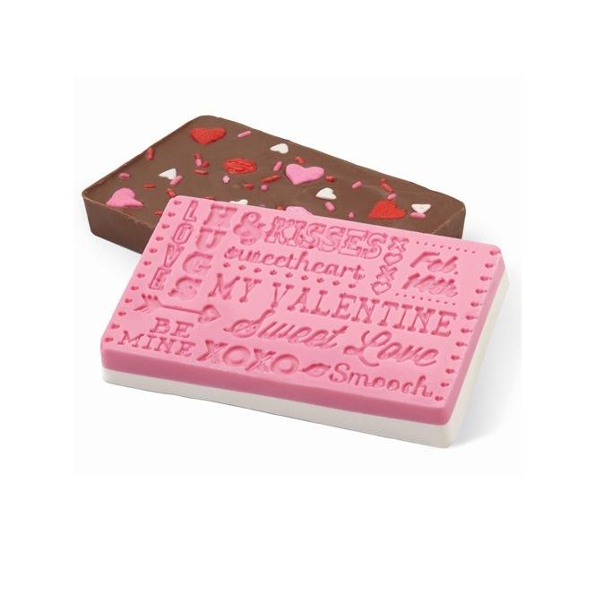 Moule à chocolat - Saint Valentin - Wilton