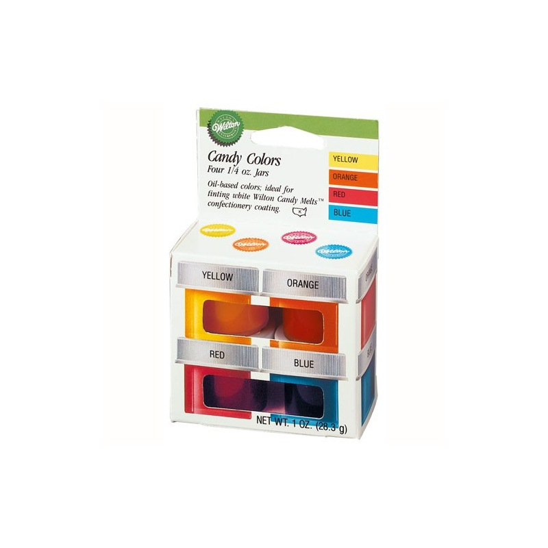 set de colorants pour candy melts wilton - Colorant Wilton