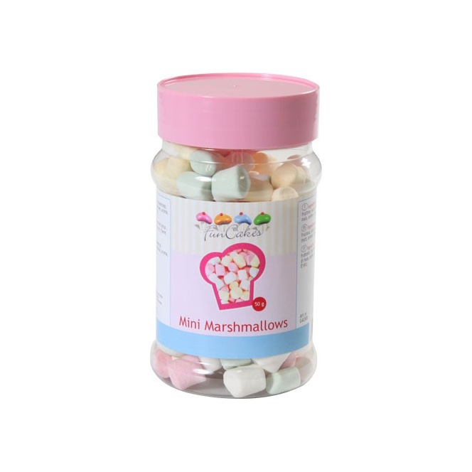 Mini marshmallows - 50g - Funcakes