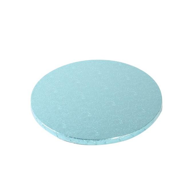 Cake Drum Round 25cm - Baby Blue - FunCakes