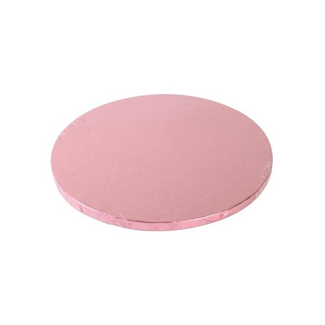 Cake Drum Round 30cm - Pink - FunCakes
