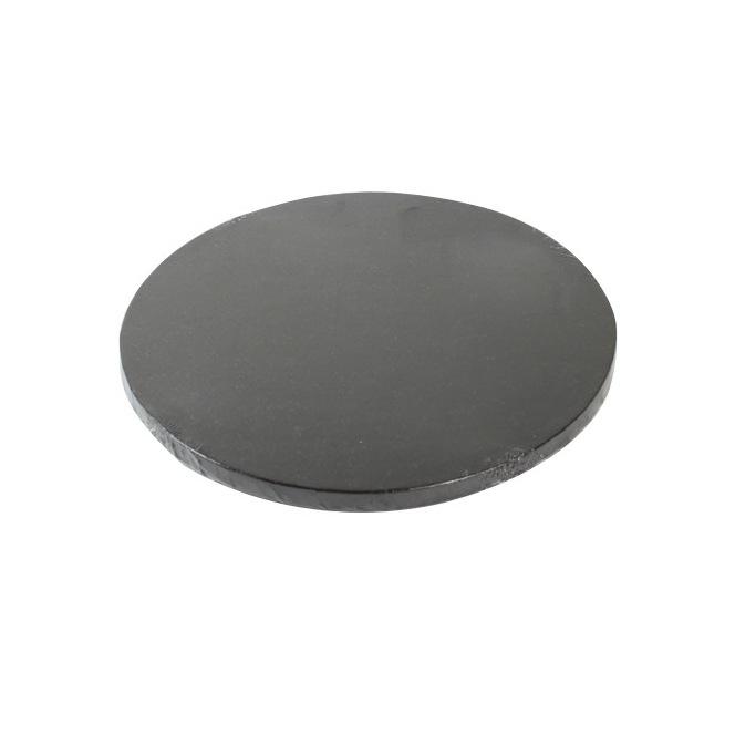 Cake Drum Round 30cm - Black - FunCakes