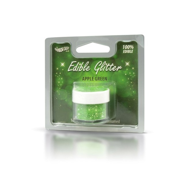 Edible Glitter Apple Green Rainbow Dust 5g