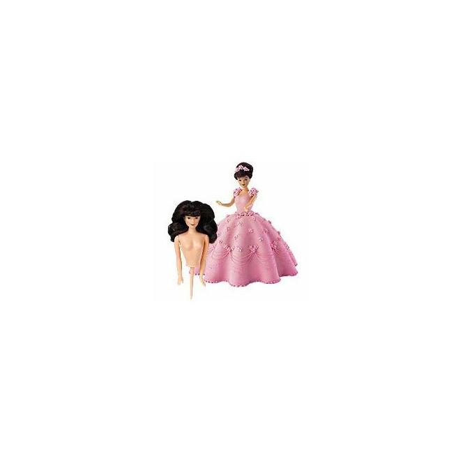 Wilton - Figurine pour gâteau princesse - Brune