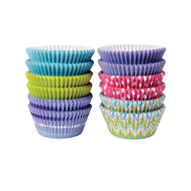 Baking Cups Assorted Pastel pk/300 - Wilton
