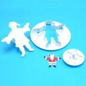 Father Christmas Plunger Cutter set/2 - PME
