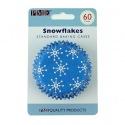 Baking Cups Snowflakes pk/60 - PME