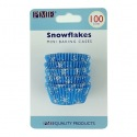 Mini Baking Cups Snowflakes pk/100 - PME
