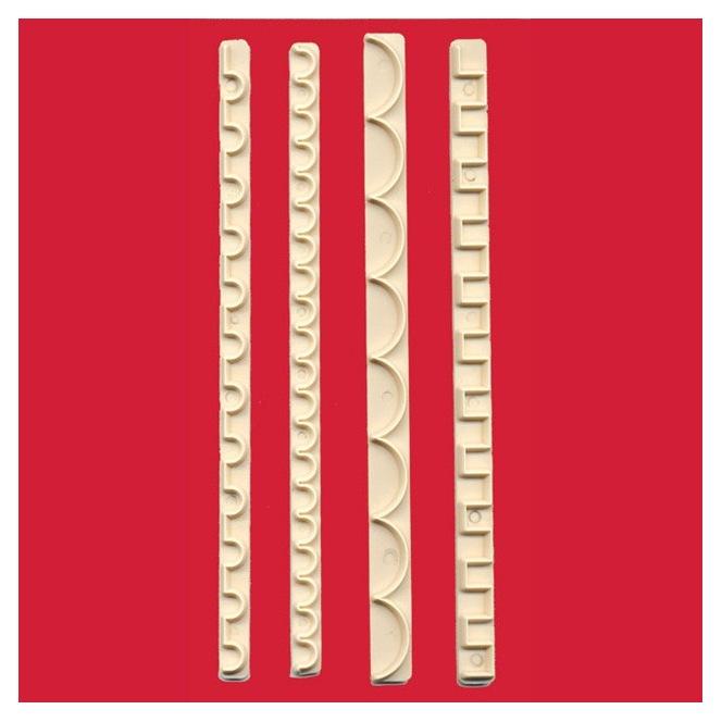 Straight Frill - Set 3 - FMM