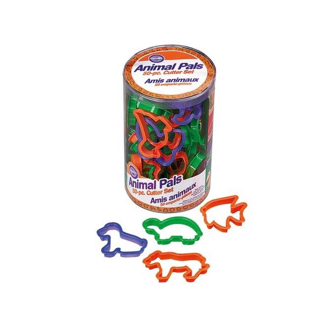 Cutter set animals pals - set/50 - Wilton