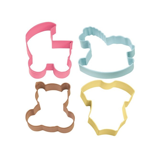 Cookie Cutter Baby Theme set/4 - Wilton