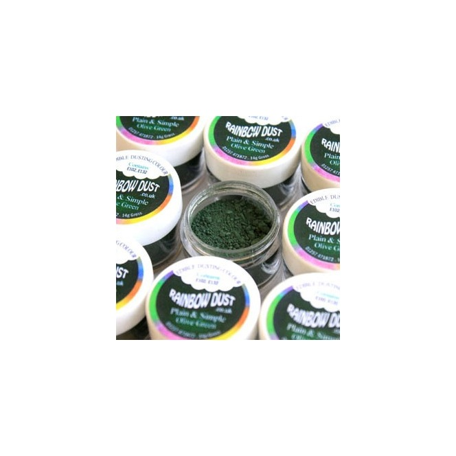 Coloring Powder Olive Green Rainbow Dust 3,5g