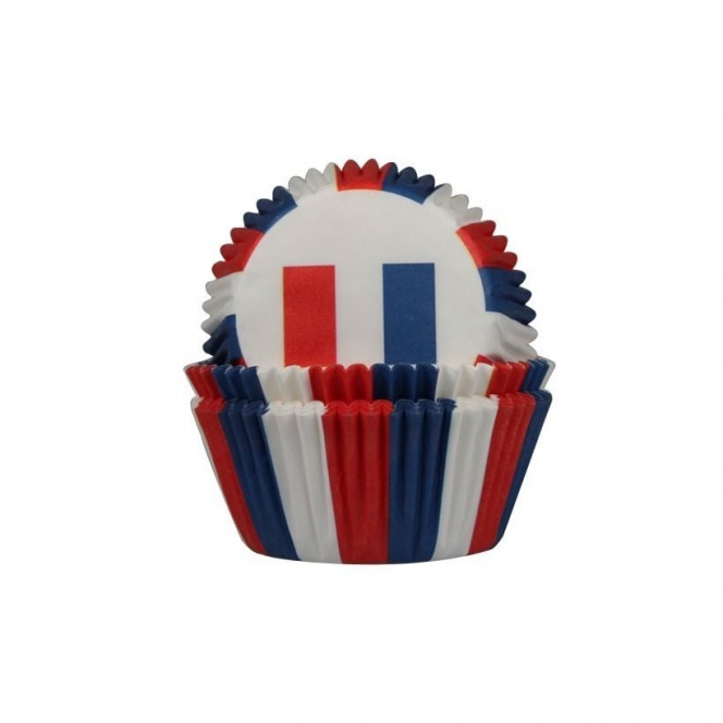 Baking Cups French flag 50st. - Städter