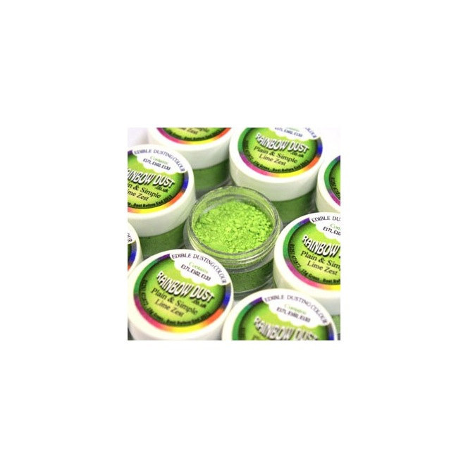 Dusting Powder Lime Green Rainbow Dust 5g
