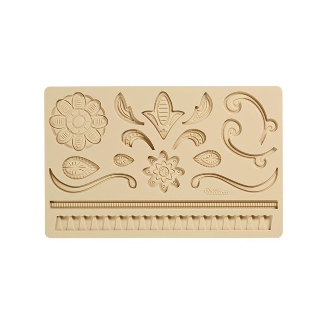 Fondant & Gum Paste Mold Lace - Wilton
