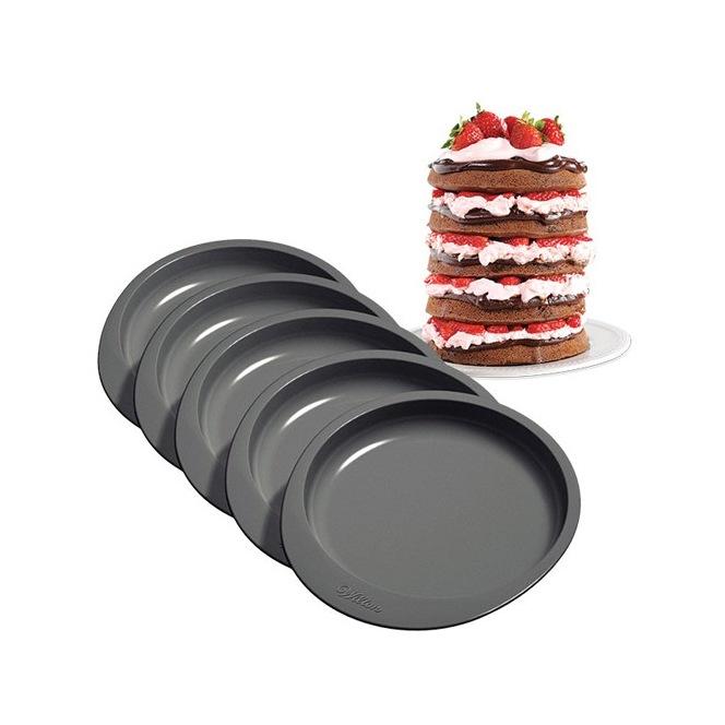 Ensemble de 5 moules à gâteau Wilton 15cm
