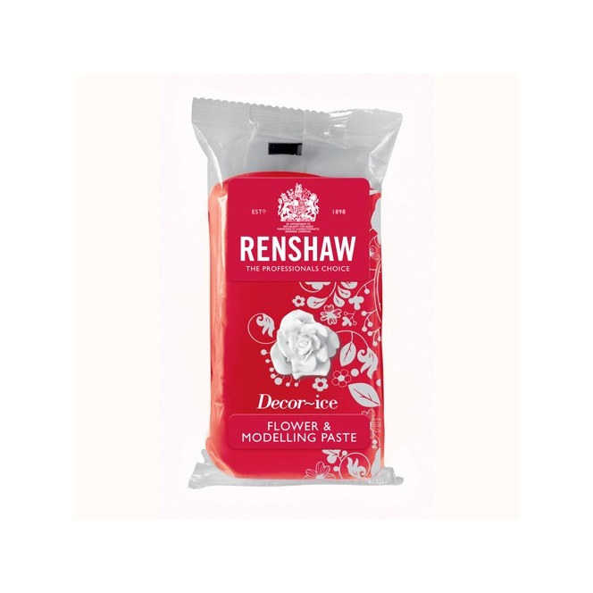 Flower and modelling paste - Carnation Red - 250gr - Renshaw