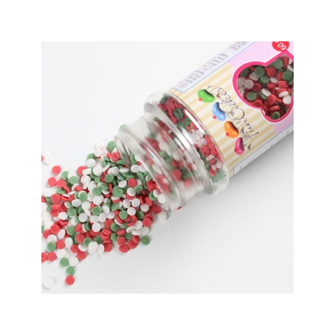 Mini Confetti Christmas 60gr Funcakes