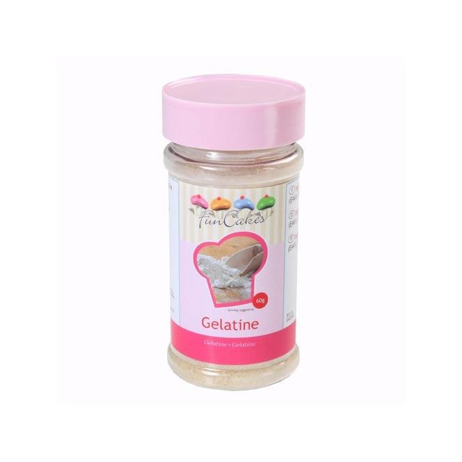Gelatine powder - Funcakes - 60g