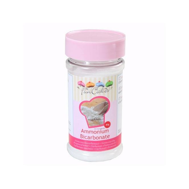 Ammonium carbonate - Funcakes - 80g