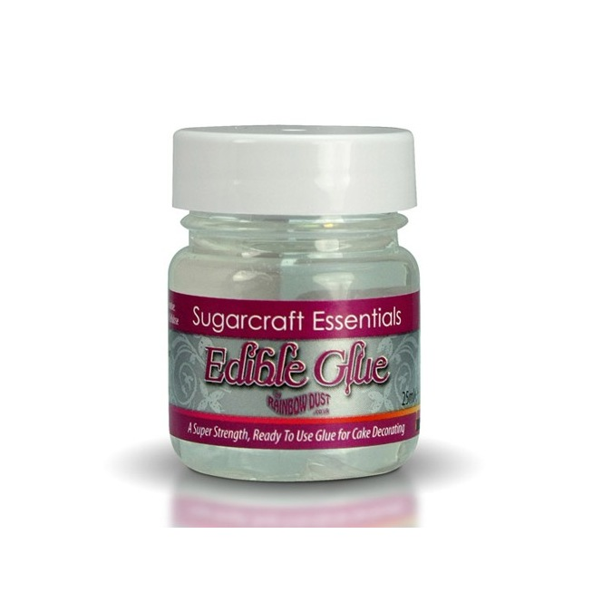 Essentials Edible Glue 25ml Rainbow Dust