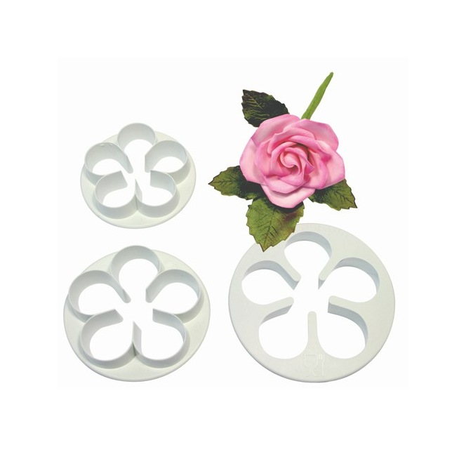 5 Petal Cutter Set/3 LARGE- PME