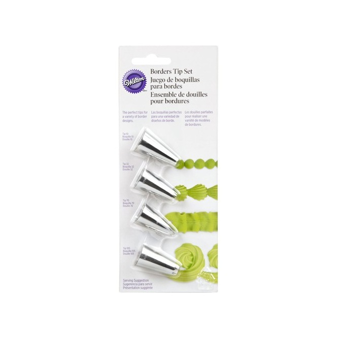 Borders Tip Set/4 Wilton