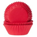 Baking cups Red - pk/50 - House of Marie