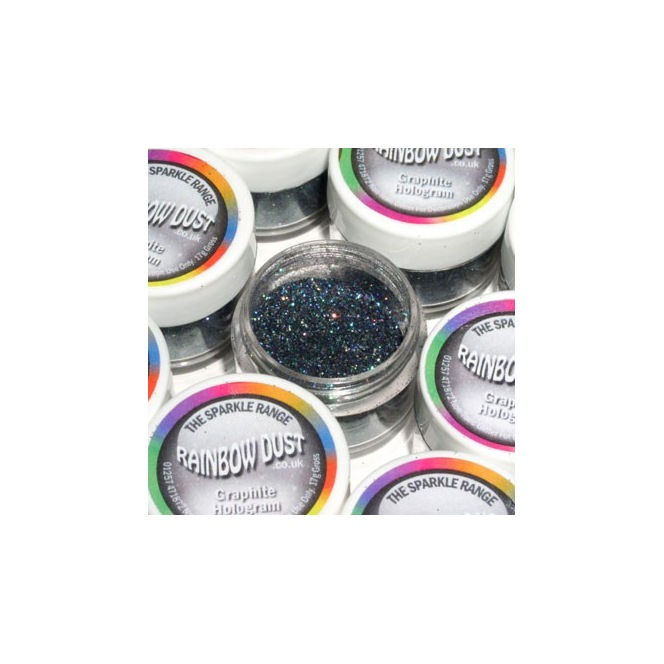 Decorative Glitter Graphite Hologram Rainbow Dust 5g