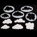 Fluffy Cloud Cutters - set/5 - FMM