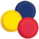 Baking Cups Primary Colors Assorted pk/75 - Wilton