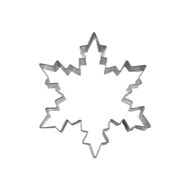 Snowflake Cookie Cutter - 9.5 cm