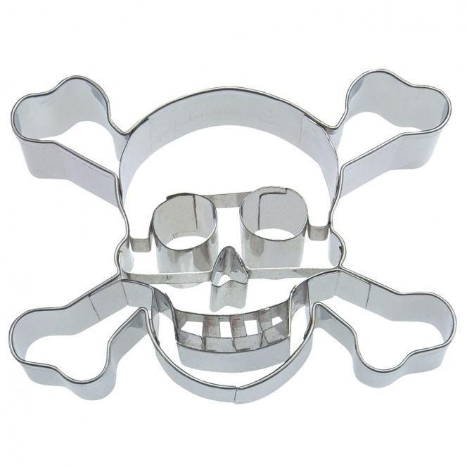 Skull with teeth cutter - Städter