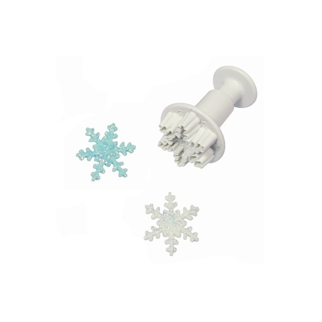Snowflake plunger cutter - LARGE - PME