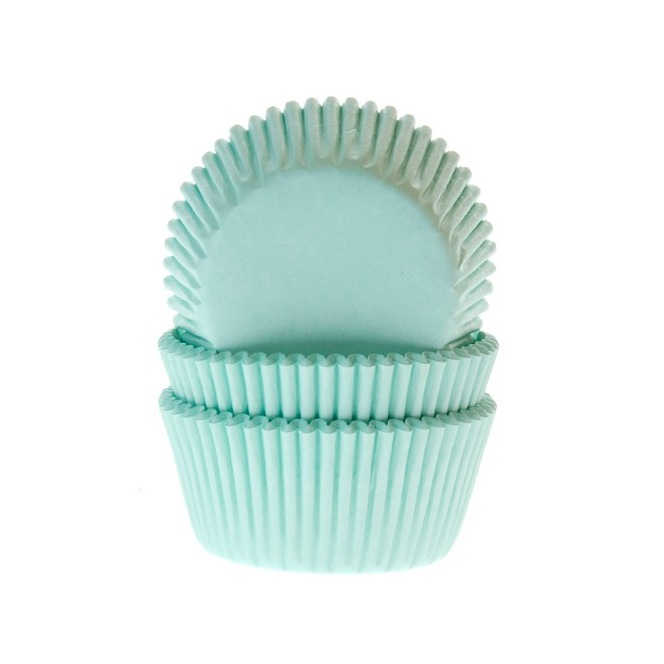 Baking Cups Light Blue pk/50- House of Marie