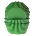 Baking Cups Grass green pk/50- House of Marie