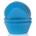 Baking Cups Cyan Blue pk/50 - House of Marie