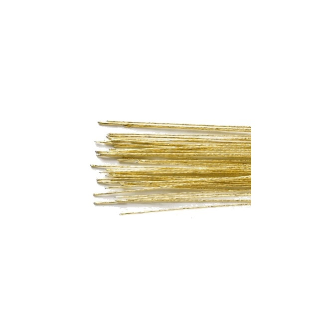 Floral Wire Gold set/50 - 24 gauge - Culpitt