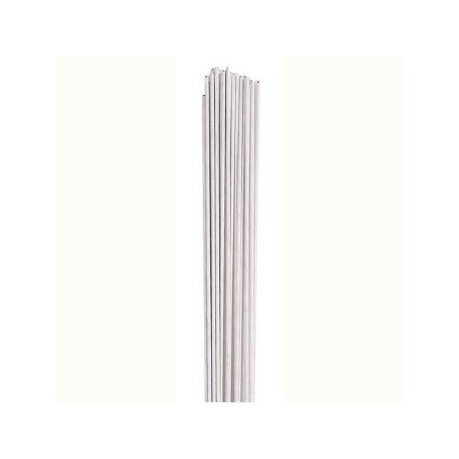Floral Wire white set/20 - 18 gauge - Culpitt
