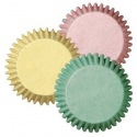 Wilton Mini Baking cups Pastel pk/100