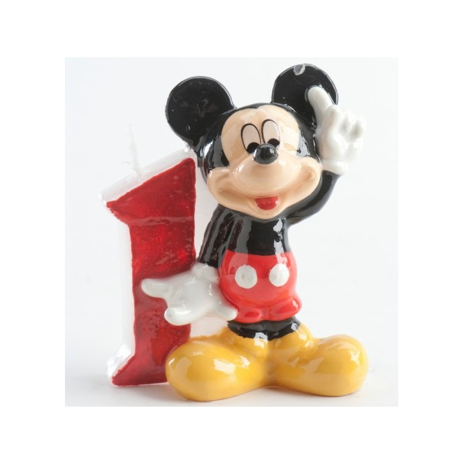 Mickey Mousse Candle