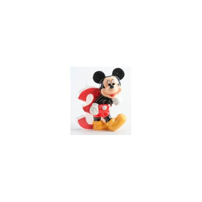 Mickey Mouse Candle - 3 years