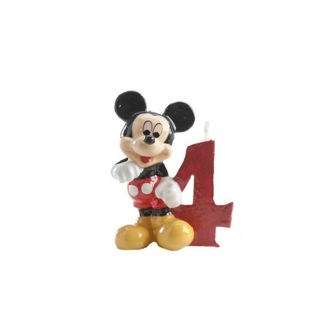 Mickey Mousse Candle - 4 years