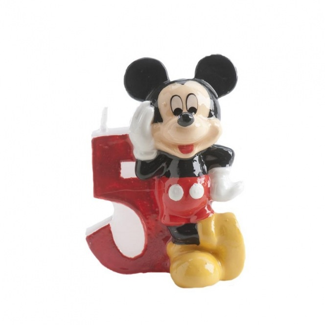 Mickey Mousse Candle - 5 years