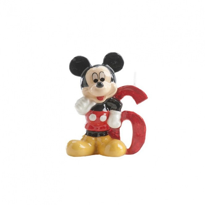 Mickey Mousse Candle - 6 years