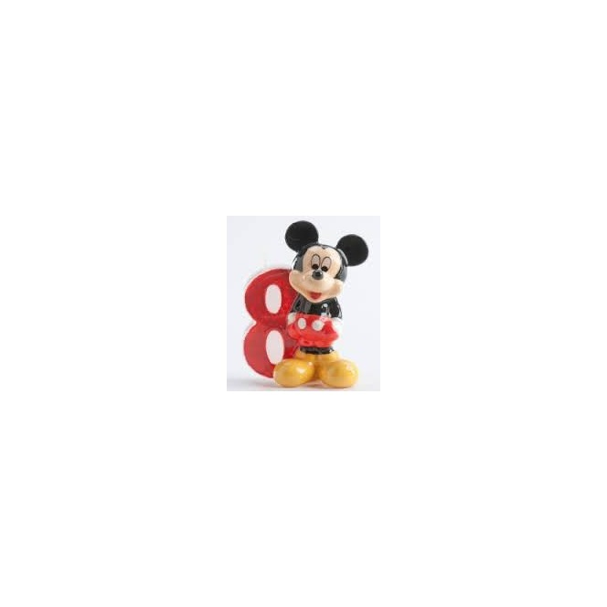 Mickey Mousse Candle - 8 years