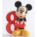Mickey Mouse Candle - 8 years