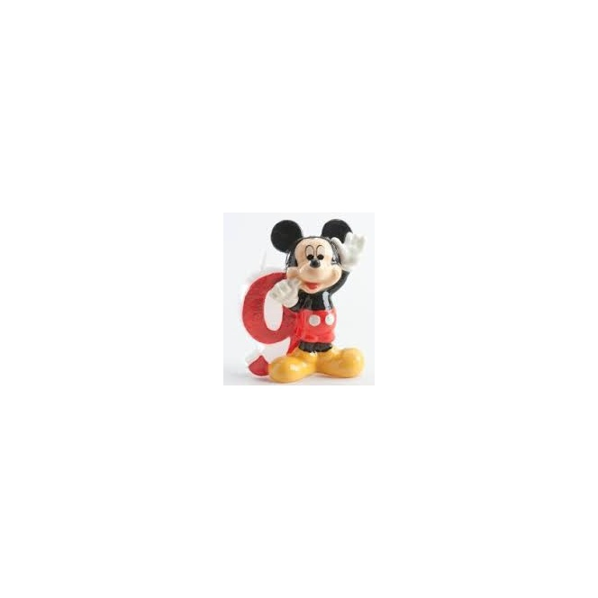 Mickey Mousse Candle - 9 years
