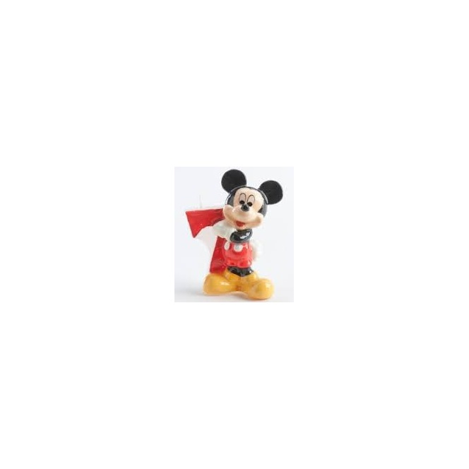 Mickey Mousse Candle - 7 years