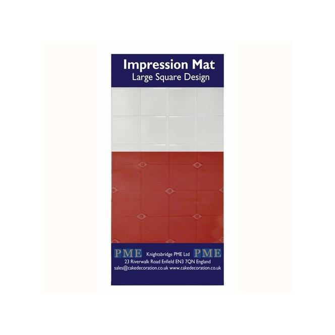 Impression mat - Large square - PME